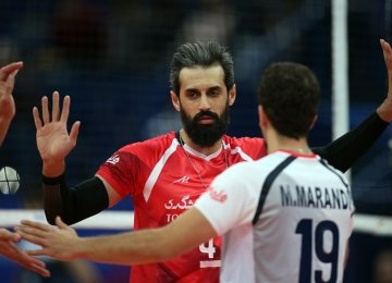 Volleyball Nations League: Iran Beats China in Straight Sets