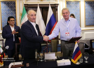 Russia, Iran Sign MOU to Boost Coop. in Energy Sector