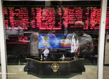 Tehran Stocks Post New Losses