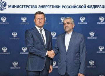 Russia to Help in Iran's Energy Projects