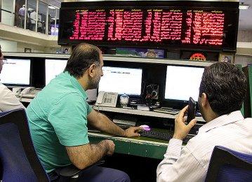 Tehran Stocks Close in Positive Territory