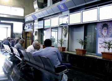 Tehran Stocks Surge 1.3%