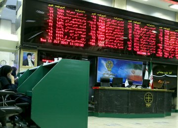 Tehran Stock Exchange Grows 62% in Five Months