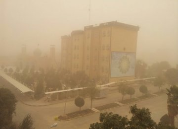 NDFI to Help Energy Ministry Fight Khuzestan Sandstorms