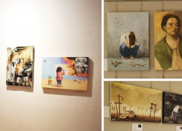 Painting Exhibition on 1987  Iraqi Chemical Weapons Attack