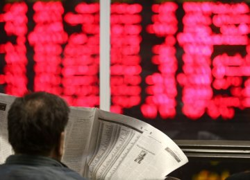 Tehran Stocks Pare Losses as Petchem Shares Rise