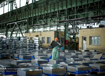Iran Remains World's 10th Biggest Steel Producer; Output Registers 7% Increase
