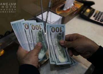 Dollar Down in Tehran
