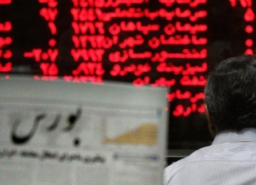 Tehran Stocks Reach New Highs