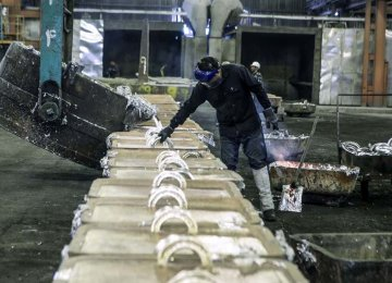 8% Decline in Aluminum Iran's Output