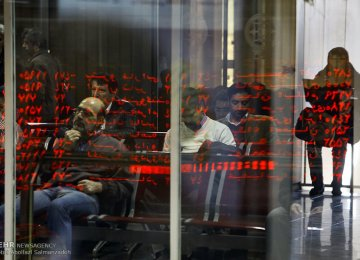 Tehran Stocks End Week Flat