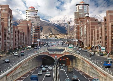 New Traffic Scheme for Tehran