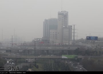 Ozone Pollution Suffocating Tehran