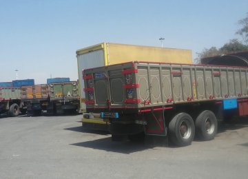 Road Unworthy Commercial Vehicles Fined in Tehran