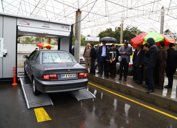 Sixth Mobile Vehicle Inspection Unit for Tehran