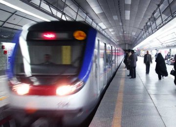 Tehran Subway Improving Passenger Mobility