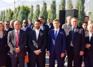 Iran ICT Minister Holds Tech Talks With CIS Members During RCC Conference in Ashgabat