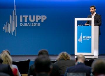 Iran ICT Minister Participates in ITU Conference in Dubai