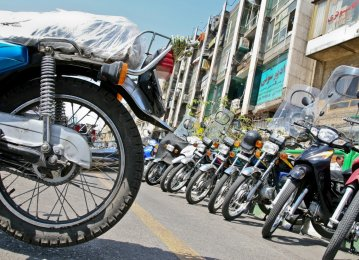 Motorbike Prices Shift Into High Gear in Iran