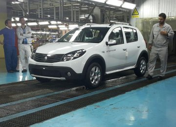 SAIPA Says to Produce 3,000 Renault Cars