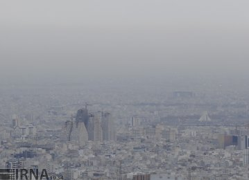 No Plan to Get Rid of Tehran's Smog Blanket