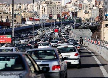 New Tehran Traffic Scheme Coming