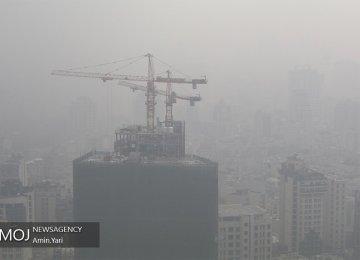 Air Pollution Choking Tehran