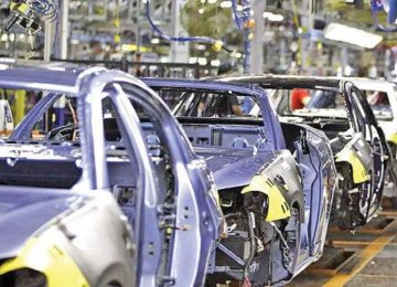 Iran's Auto Output Increases by 16%