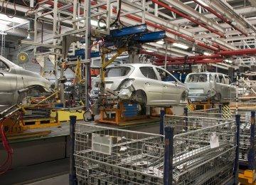 Iran H1 Auto Output Rises 10%
