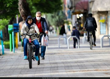 Cycling Becomes More Popular in Iran After Coronavirus Outbreak