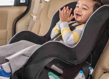 Booster Seats Becoming Mandatory in Iran