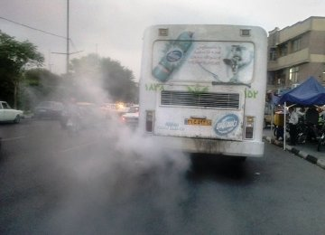 East Azarbaijan Public Transport Decrepit