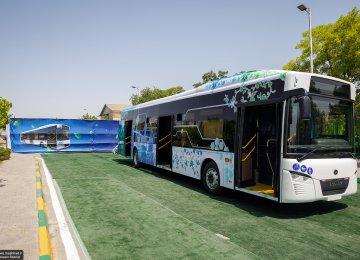 MAPNA Unveils Domestic Electric Bus in Mashhad
