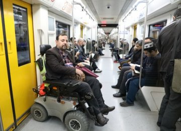 Tehran Subway System Getting Disabled-Friendly