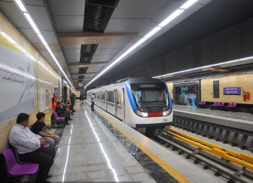 Iranian, French Groups to Help Set Up 4 New Subway Lines in Tehran
