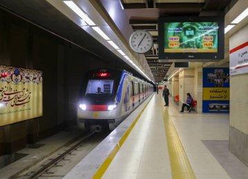 Seven Subway Stations for Tehran