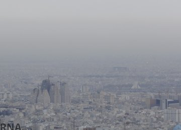 Tehran Ozone Pollution Returns