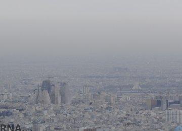 Tehran Ozone Pollution Returns