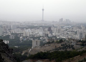 Tehran Ozone Alarm Goes Off