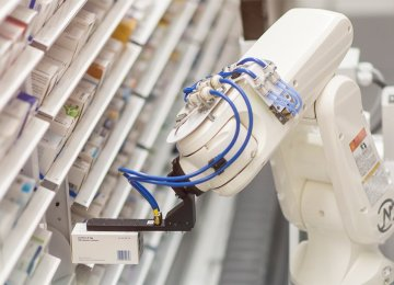 Robotic Pharmacy Opens in Urmia