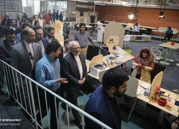 Top Officials Tour Tech Centers, Startups in Tehran, Mashhad