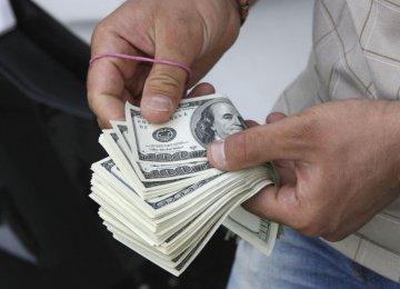 Dollar Higher in Tehran Market