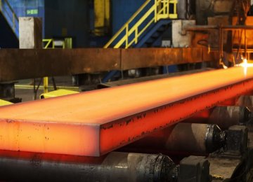 Iran Steel Output Rises 40.5%