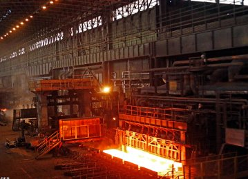 Iran Steel Output Up 20%: worldsteel (Jan.-Sep 2018)