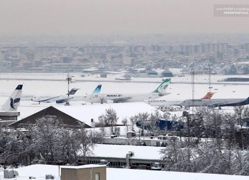 Iran Airport Traffic Declines as High Season Ends - Photo: Hamidreza Jafari