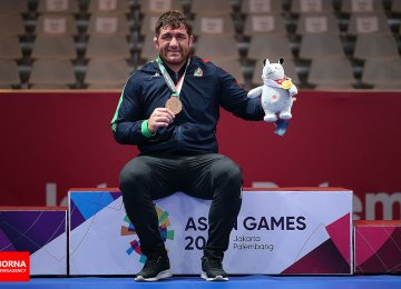 Asian Games 2018 Day Two: Iran Wins 3 Gold Medals