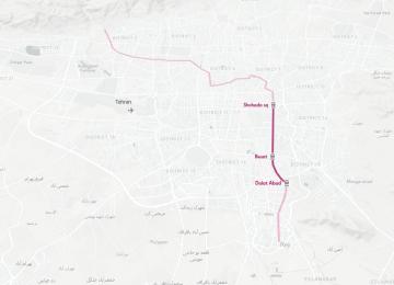 Tehran Adds 1 More Metro Line