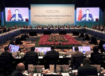 G20 Leaders Split on Policy