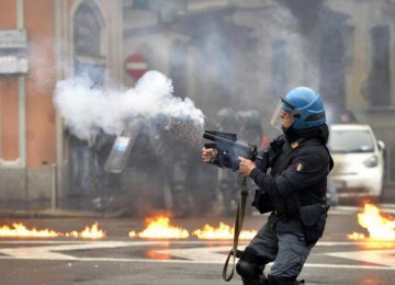 Milan Expo Opens With Street Riots