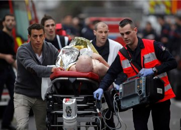 12 Dead in Paris Newspaper Attack